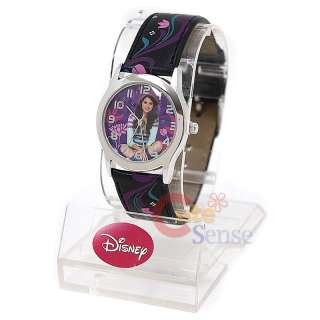 Wizards of Waverly Place Selena Gomez Wrist Watch Black 660392828042