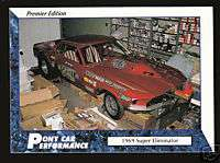 1969 69 FORD MUSTANG SUPER ELIMINATOR Car Picture CARD