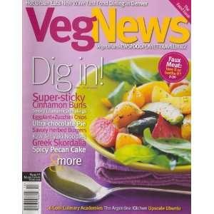 Veg News, October 2008 Issue Editors of VEG NEWS Magazine