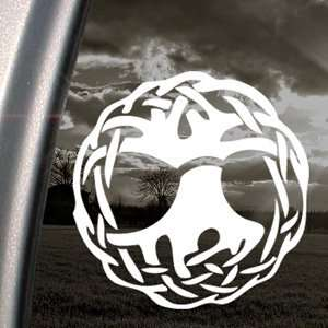 Celtic Wicca Witch Symbol Ball Of Twine Decal Sticker