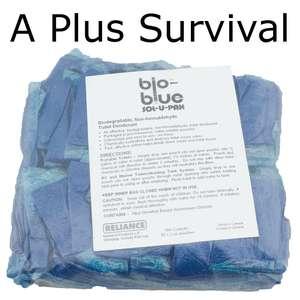 50 Pack Bio Blue Portable Toilet Deodorizer Chemicals