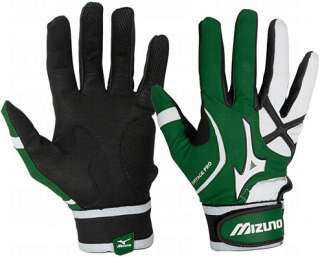 Vintage   Adult   Pro Batting Gloves G3   Forest Green 2XL