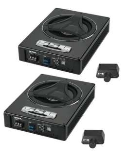 LP8 8 900 Watt Low Profile Amplified Subwoofers Subs Powered