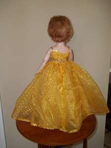 Vintage 1950s Uneeda Dollikin 2S Fashion Doll Multi Jointed Cissy