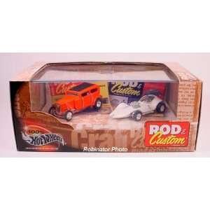 Hot Rod Series 6 Rod & Custom Magizine Manta Ray and Orange Crate Car