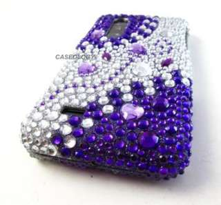 DIAMOND RHINESTONE CASE COVER ATT LG THRILL 4G PHONE ACCESSORY