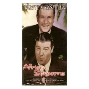 Africa Screams [VHS]: Bud Abbott, Lou Costello, Clyde