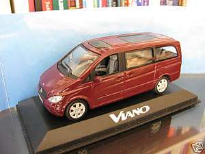 43 Minichamps Mercedes Benz Viano 2003 diecast