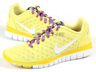 Nike Wmns Free Tr Fit Lemon/White Running Shoes 2011