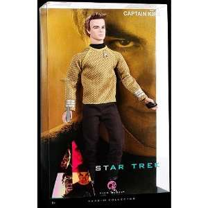 Barbie Pink Label Collection Star Trek Captain Kirk Toys