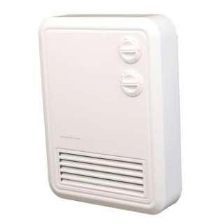 2,000 Watt Deluxe Wall Mounted Fan Heater With Built In Thermostat
