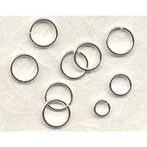 Sterling Silver 10mm Open Jump Ring, 18ga Arts, Crafts
