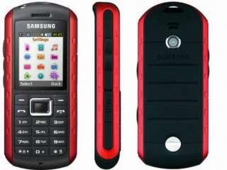 NEW SAMSUNG B2100 UNLOCKED WATERPROOF CELL PHONE RED