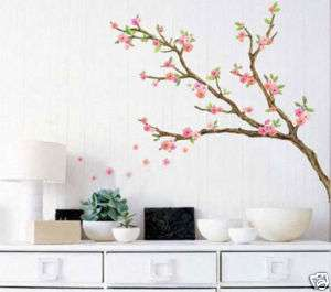 Wall Sticker Decor Decals Mural Art WST11 Cherry Flower