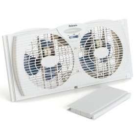 Holmes 7 Twin Window Fan 2 Speeds BRAND NEW