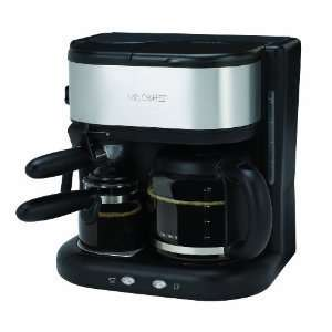 Espresso and 10 Cup Coffeemaker, Black with FREE MINI TOOL BOX (DH