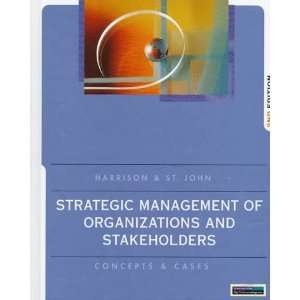 Strategic Management Of Organizations And Stakeholders