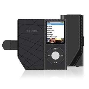Belkin Leather Folio Case for iPod nano 4G, Black