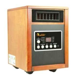 Dr. Heater DR 998 1500 Watt Infrared Heater Humidifer/Air Purifier/Fan