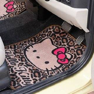 Hello Kitty Vertical Car Mat Animal Print Explore