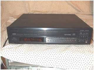Yamaha Natural Sound Compact Disc player Changer cdc 835