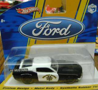 HOT WHEELS FORD 68 MUSTANG HIGHWAY PATROL 1/50 *NEW