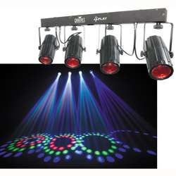 4PLAY 6 channel LED Light Bar and Effects System