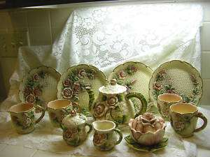 TAKAHASHI SAN FRANCISCO COUNTRY ROSE 15PC TEA SET