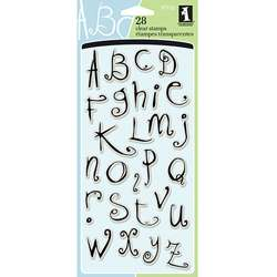 Inkadinkado Twilight Garden Alphabet Clear Stamps