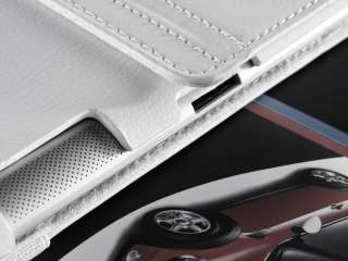 Apple iPad 2 Rotating Magnetic Leather Smart Cover Case with Stand