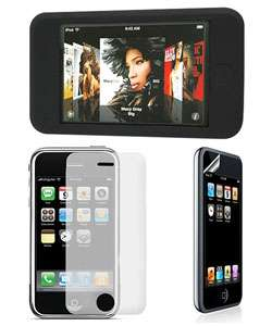 Apple iPod Touch Silicon Case with Screen Protector