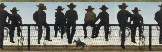 WESTERN COWBOY RANCH HORSE Wallpaper Border EL49005B