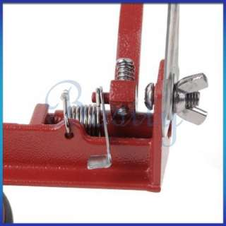 Red Apple Pear Fruit Peeler Corer Slicer Kitchen Tool