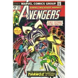 The Avengers (Marvel Comic #125) July 1974 Steve