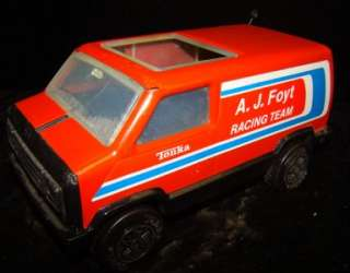 VINTAGE TONKA A.J. Foyt RACING TEAM Van VGC