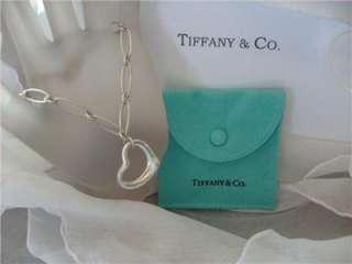 Tiffany & Co. Elsa Peretti Open Heart Link Bracelet