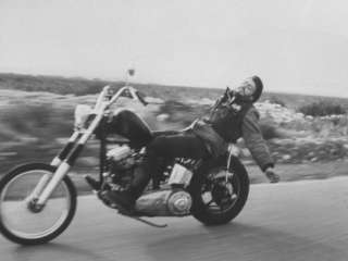 Hells Angels Bike Rider Photographic Print by Bill Ray at AllPosters