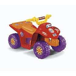 Fisher Price Dora Lil Quad Power Wheels Ride on Car