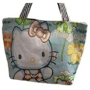 Hello Kitty Canvas Shoulder Handbag Luggage Bag Purse Wallet Tote 18