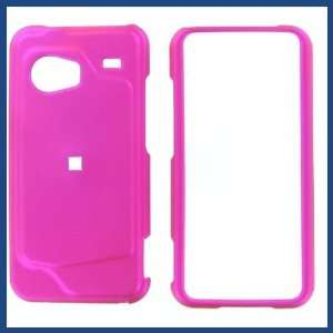 HTC Droid Incredible Hot Pink Rubber Feel Protective Case