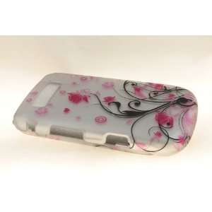 Blackberry Torch 9800 Hard Case Cover for Pink Vines Cell