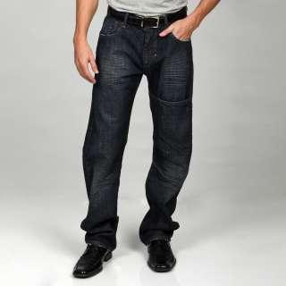 Syn Jeans Mens Boot Cut Dark Denim Jeans  Overstock