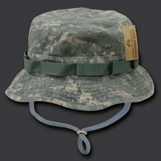 Hunting Army Fishing Bucket Jungle Cap Hat Hats Sz M L XL