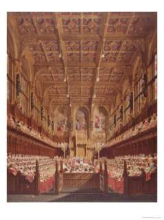in the House of Lords Giclee Print by Joseph Nash at AllPosters