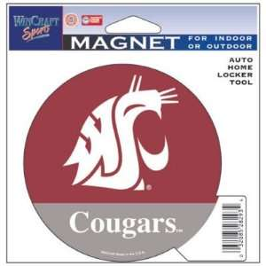 State Cougars Official Logo 4x6 Die Cut Magnet