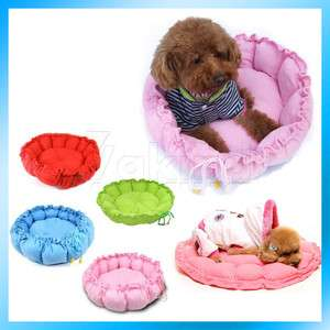 New Practical Round Dog Cat Dual Purpose Pet Bed Nest Unique Soft Pad