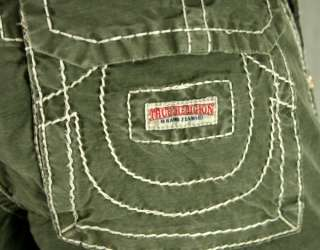 True Religion Jeans mens ISAAC Cargo Shorts green or Black MAR841EH