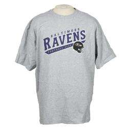 Reebok Baltimore Ravens Grey Team T shirt