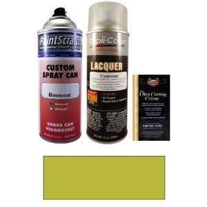 Oz. Yellow Spray Can Paint Kit for 1983 Volvo DL (152) Automotive