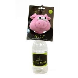Hyper Pet Bottle Bud Dog Toy, Pig